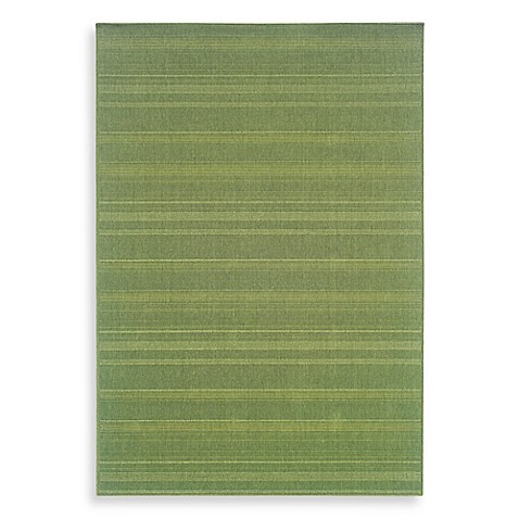 Oriental Weavers Lanai Area Rug in Green/Georgetown