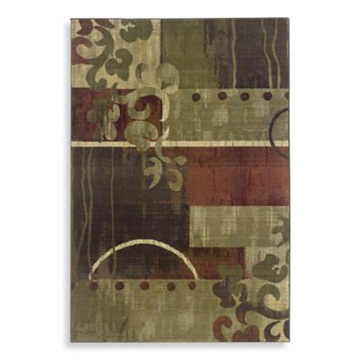 Oriental Weavers Generations 7-Foot 10-Inch x 11-Foot Area Rug in Multi/Landy