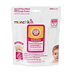 Munchkin® Arm & Hammer 24-Pack Hand & Face Wipes