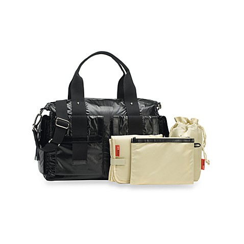 Storksak Sofia Diaper Bag (Black Pearl)