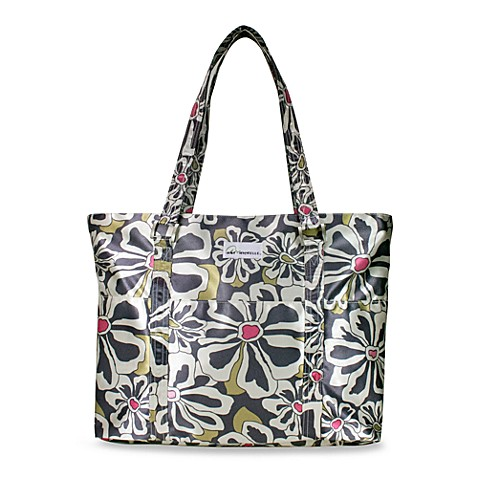 Amy Michelle™ Austin Diaper Bag in Charcoal Floral