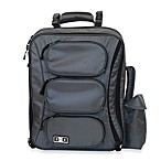 Diaper Dude® Convertible Messenger Backpack in Grey