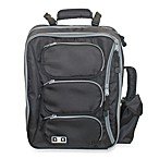 Diaper Dude® Convertible Messenger Backpack - Black