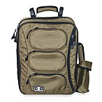 Diaper Dude® Convertible Messenger Backpack - Olive