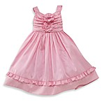 Nancy Pink Shantung Vintage Dress