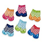 Elegant Baby® Silly Sophie Size 0-12M Socks (Set of 6)