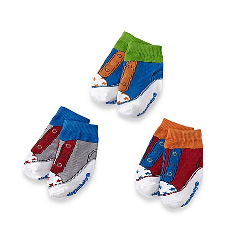 Elegant Baby® JumPin ' Jacksons Size 0-12M (Set of 3)