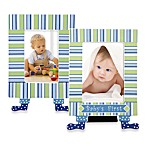Gorham® Little Boy Blue Baby's First Picture Frame with Feet