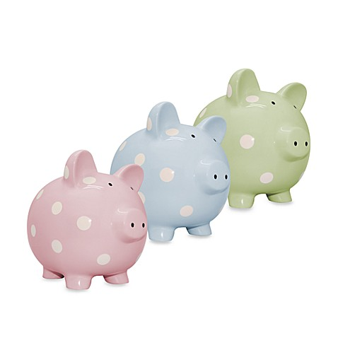 Argento Dot Piggy Bank