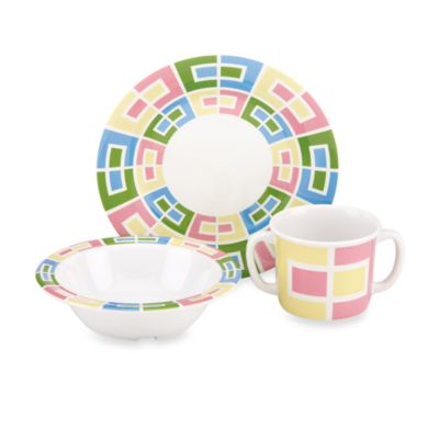Green Melamine Sets