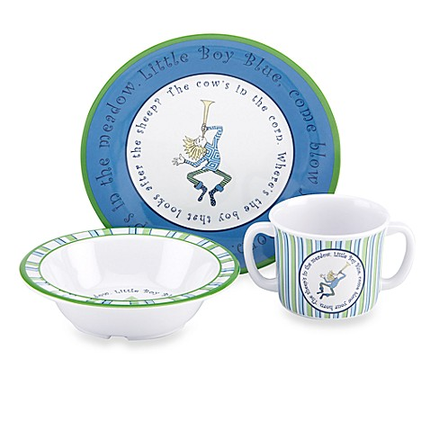 Gorham® Little Boy Blue 3-Piece Melamine Set