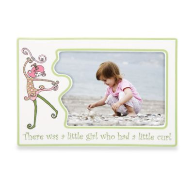 Gorham® Little Girl with a Curl 4-Inch x 6-Inch Character Frame