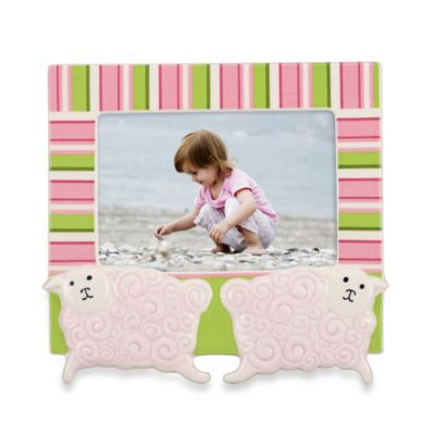 Gorham® Little Girl with a Curl 4-Inch x 6-Inch Sheep Frame