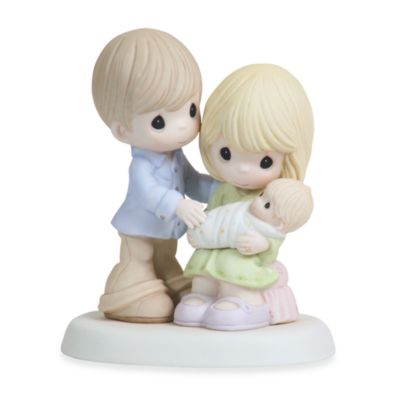 Precious Moments® In Our Hearts From The Very Start Porcelain Figurine