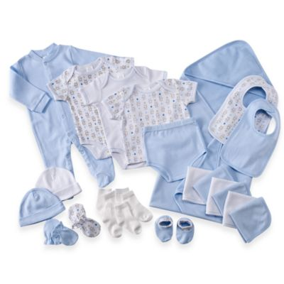 Cutie Pie Baby 22-Piece Gift Box Set in Blue