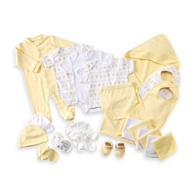 Cutie Pie Baby 22-Piece Gift Box Set in Yellow