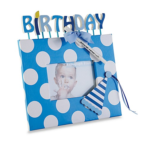 Mud Pie™ Birthday Autograph Frame