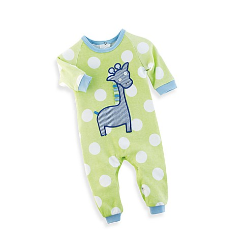 Mud Pie™ Giraffe PajaMain Ages 0 to 6 Months