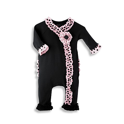 Mud Pie™ Perfectly Princess Ruffle Footed Sleeper in Ages 0 to 6 Months