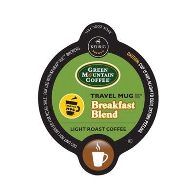 Vue™ 12-Count Green Mountain Coffee® Travel Mug Breakfast Blend for Keurig® Brewers