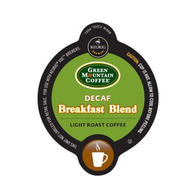 Vue™ 16-Count Green Mountain Coffee® Decaf Breakfast Blend Coffee for Keurig® Brewers