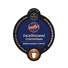 Vue™ 16-Count Timothy's Decaffeinated Colombian Coffee for Keurig® Brewers