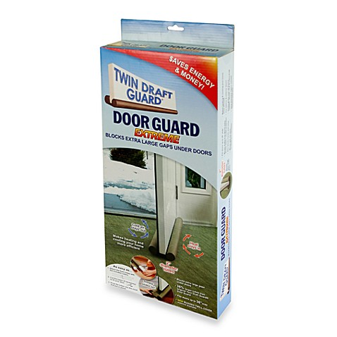 Twin Draft Blocker Extreme Double Sided Door Guard