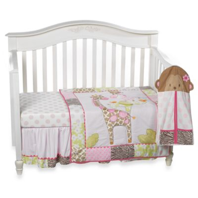 Carter's® Jungle Jill 4-Piece Crib Bedding Set