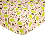 Carter's® Jungle Jill Fitted Crib Sheet