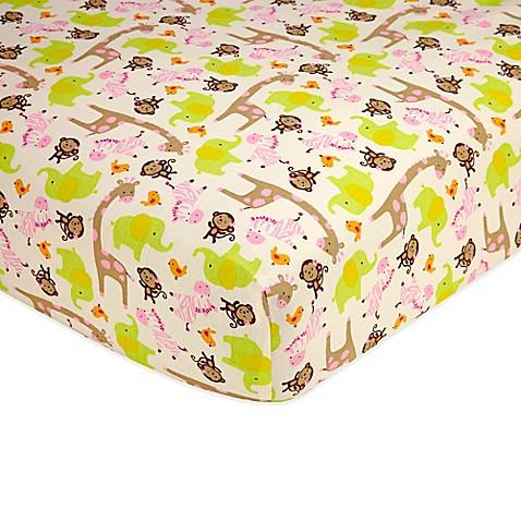 Carter S 174 Jungle Jill Fitted Crib Sheet Bed Bath Amp Beyond