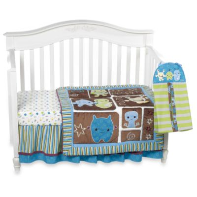 CoCaLo Baby® Peek-A-Boo Monsters 8-Piece Crib Bedding Set