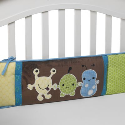 CoCaLo™ Peek-A-Boo Monsters 4-Piece Crib Bumper