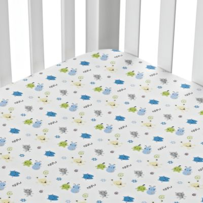 CoCaLo Baby® Peek-A-Boo Monsters Fitted Sheet