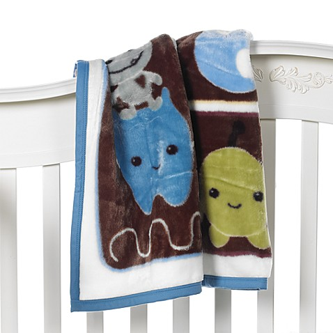 CoCaLo Baby® Peek-A-Boo Monsters Cozy Blanket