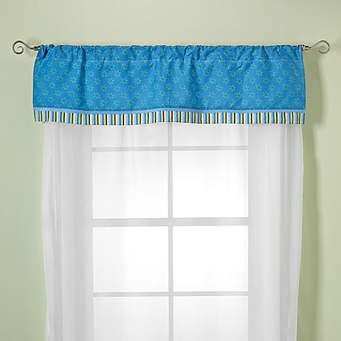 CoCaLo Baby® Peek-A-Boo Monsters Valance