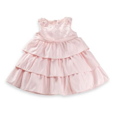 Dorissa Carly Pearl Dress in Pink