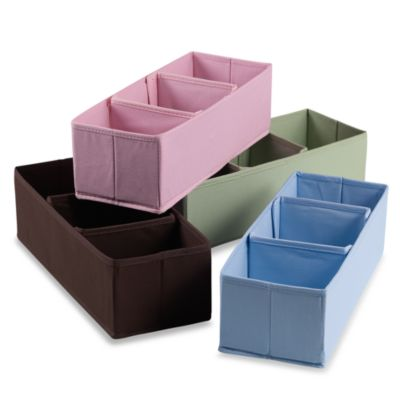 3-Section Nursery Organizer