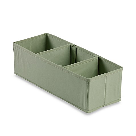 3-Section Nursery Organizer in Green
