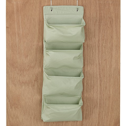 Hanging 4-Pocket Organizer in Green