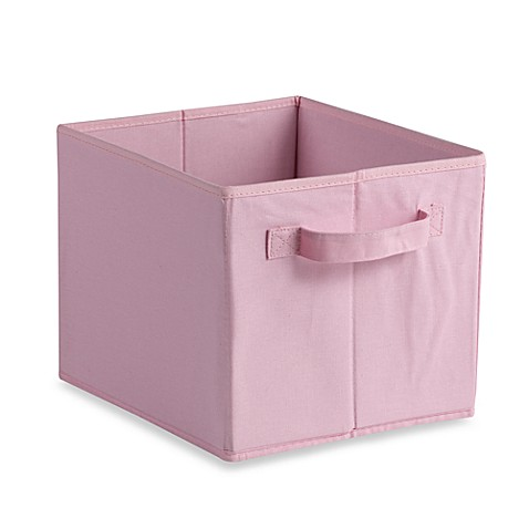 Storage Decor Collapsible Tote in Pink