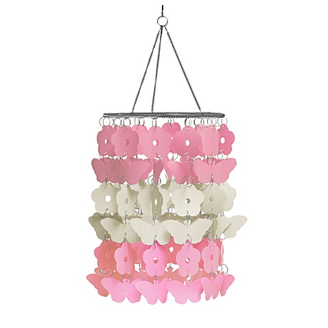 WallPops!® Flower Butterfly Chandelier