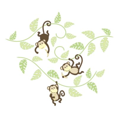 Wall Decor > WallPops!® Monkey in g Around Wall Art Kit
