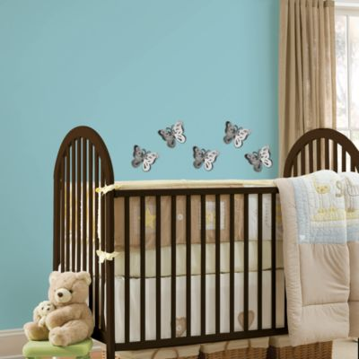 WallPops!® 3D Butterfly Wall Mirror Art