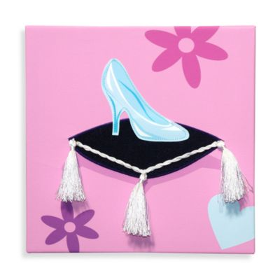 Studio Arts Kids Her Majesty-Inch Slipper Embellished Wall Art