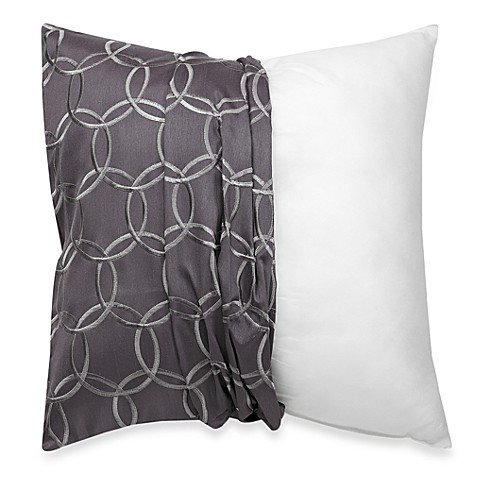 Silver Decorative Bed Pillows : Soap Suds 20