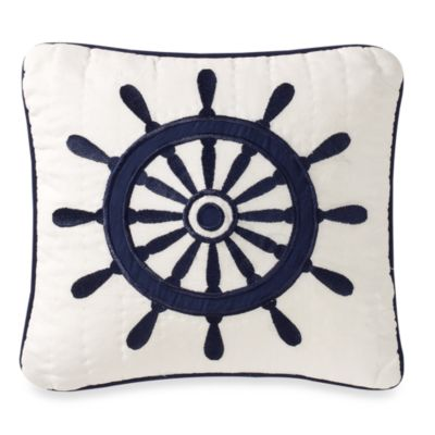 Sailing 14-Inch Toss Pillow