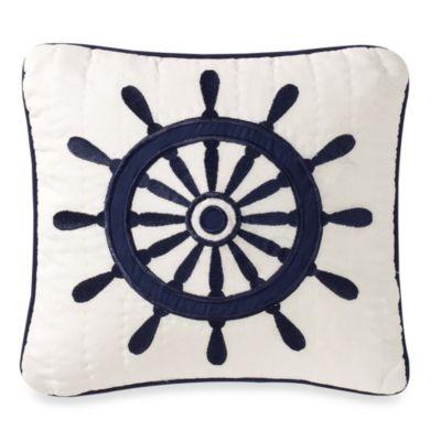 Sailing 14-Inch Throw Pillow