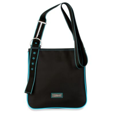 Hadaki® by Kalencom Nylon Scoop Sling in Black w/Teal Trim