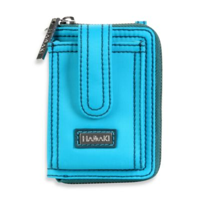 Hadaki® by Kalencom Nylon Essentials Wristlet in Dark Teal