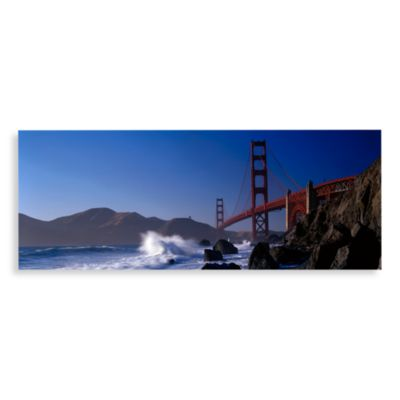 Golden Gate Bridge Canvas Print 58-Inch x 18-Inch Wall Art